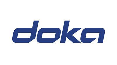 zeigt das Logo von doka
