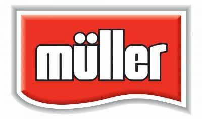 zeigt das Logo von Theo Müller